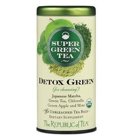 Republic of Tea SUPERGREEN DETOX GREEN TEA BAG