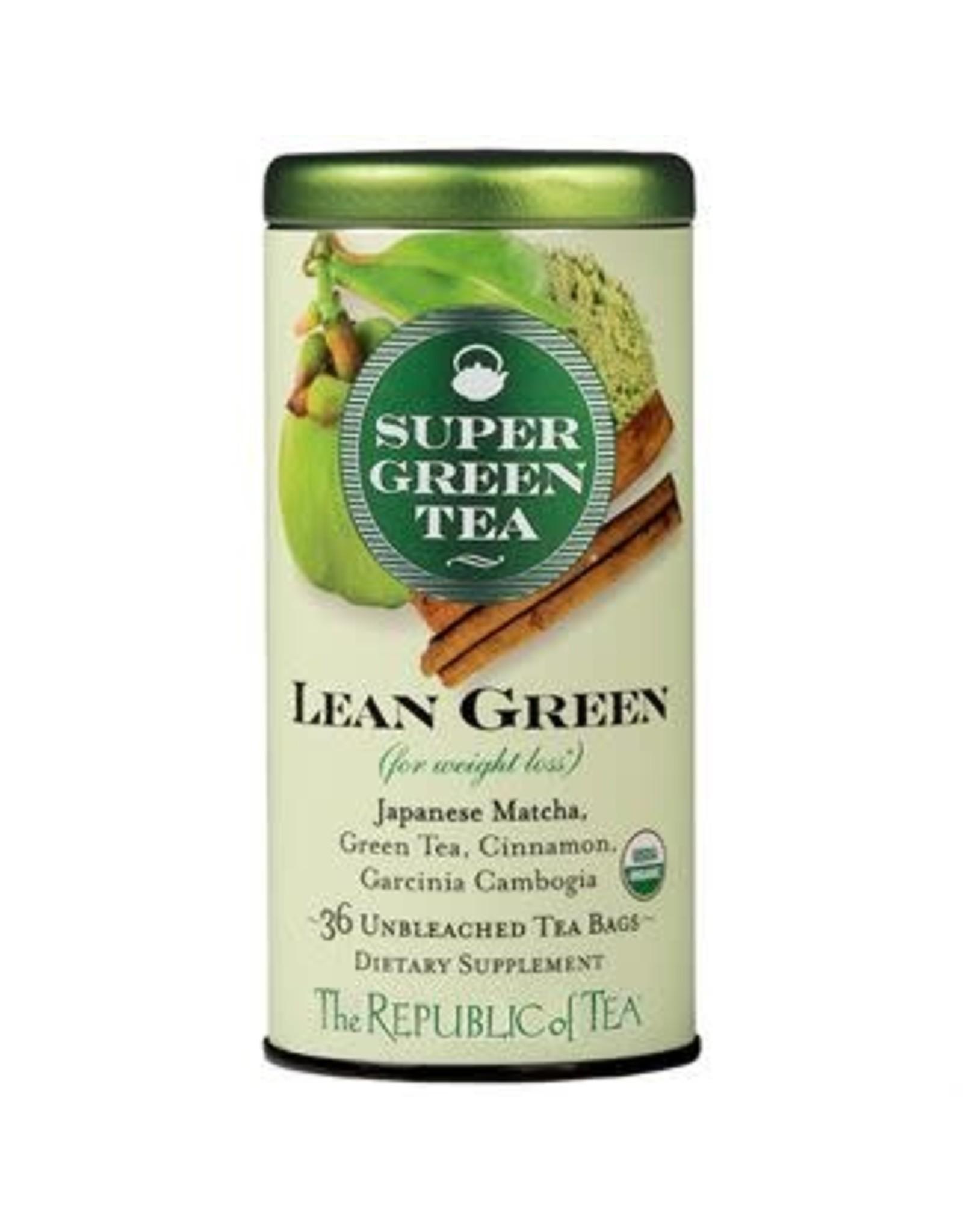 Republic of Tea SUPER GREEN LEAN GREEN TEA