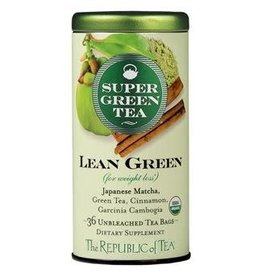 Republic of Tea SUPER GREEN LEAN GREEN TEA