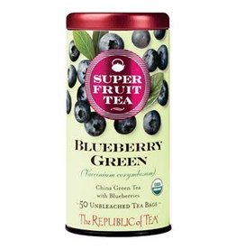 Republic of Tea SUPERFRUIT BLUEBERRY GREEN TEA