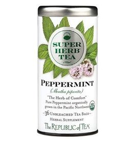 Republic of Tea SUPERHERB PEPPERMINT TEA