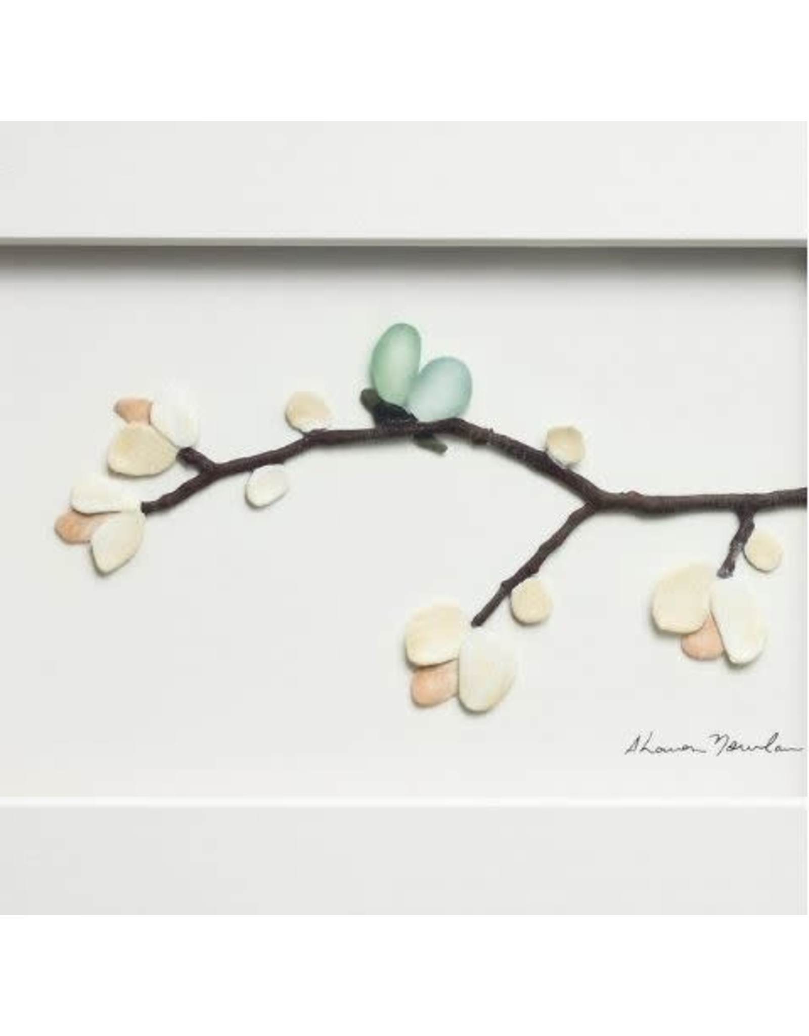 Demdaco BLOSSOMS AND BUTTERFLY WINGS WALL ART