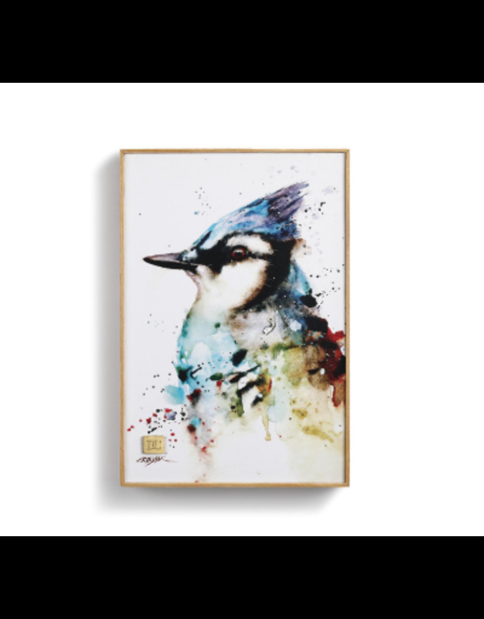 Demdaco BLUE JAY WALL ART