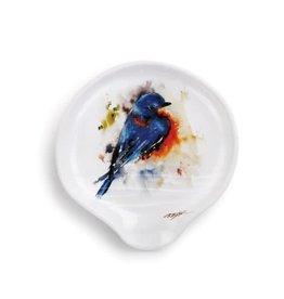 Demdaco BLUEBIRD SPOON REST