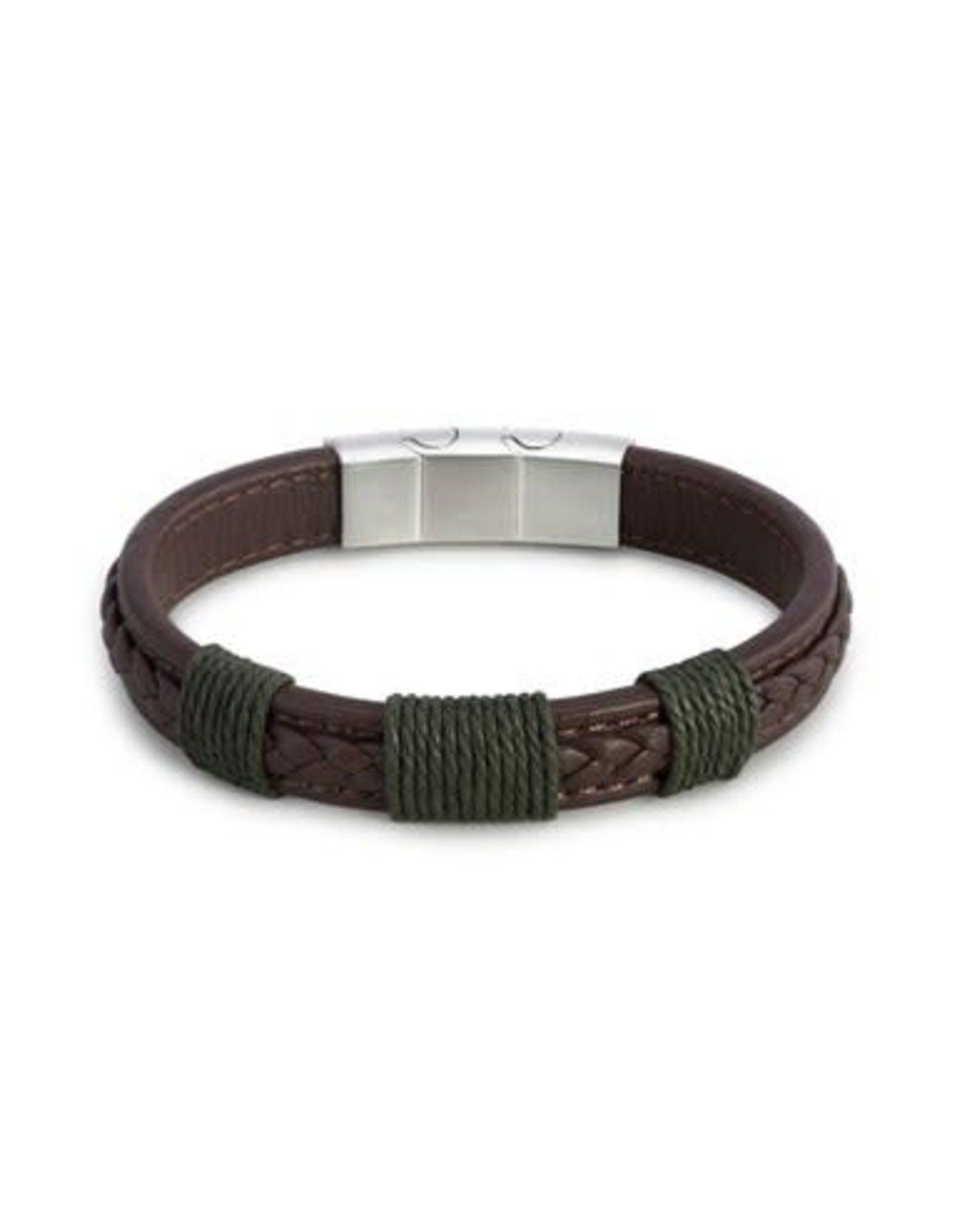 Demdaco BRAC MENS BROWN LEATHER