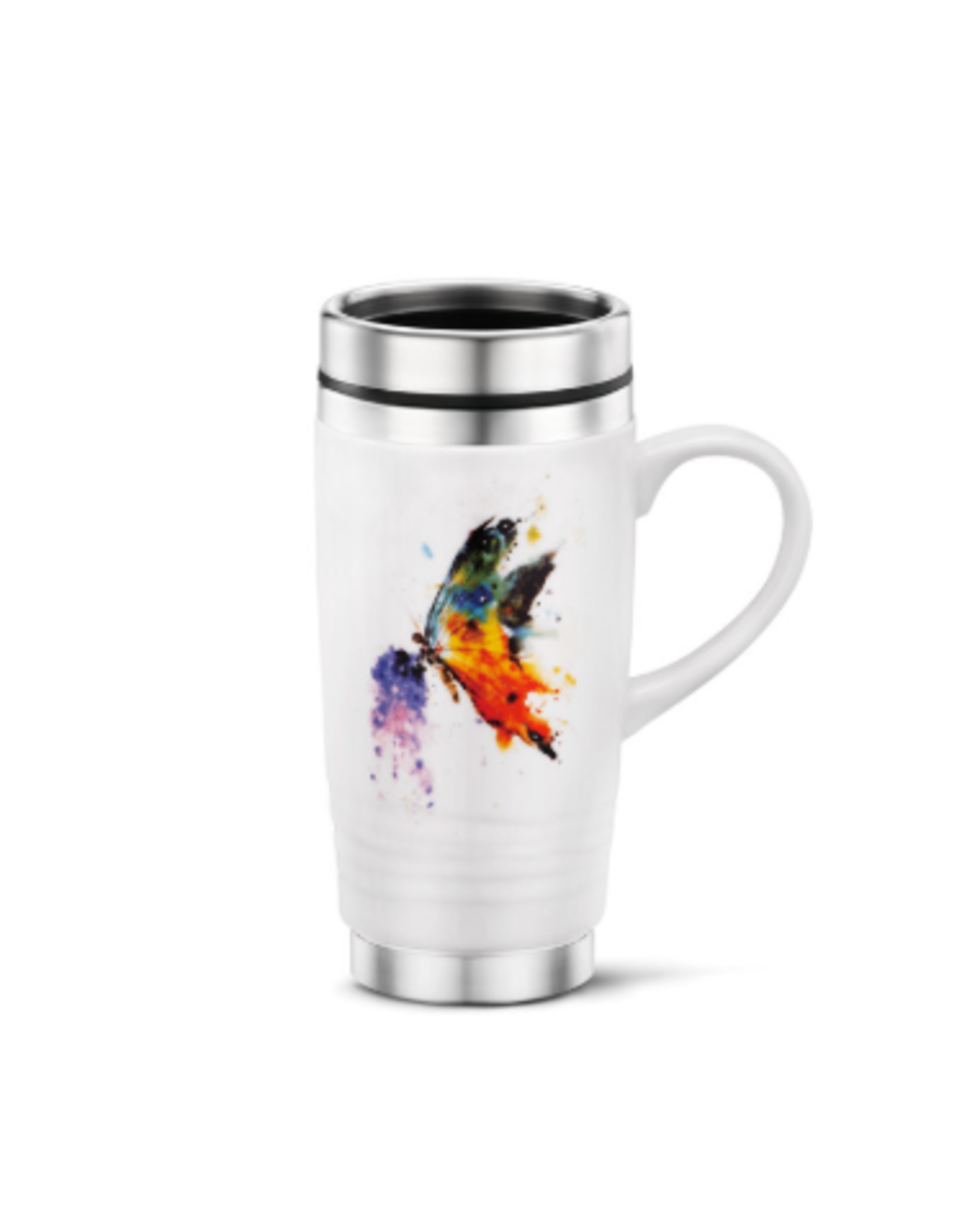Demdaco BUTTERFLY TRAVEL MUG