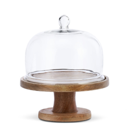 Demdaco CAKE STAND W/GLASS COVER