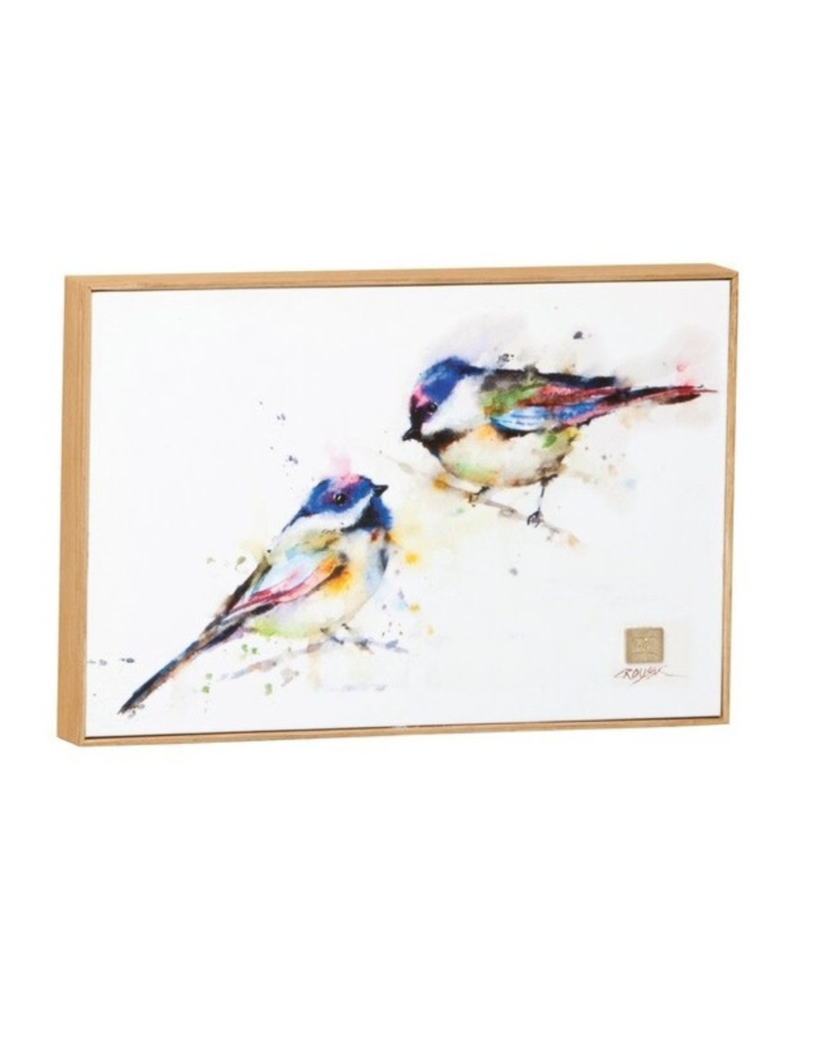 Demdaco CHICKADEE PAIR WALL ART