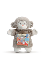 Demdaco FIVE LITTLE MONKEYS PUPPET BOOK