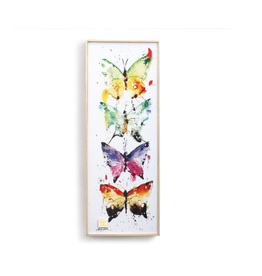 Demdaco FOUR BUTTERFLIES WALL ART