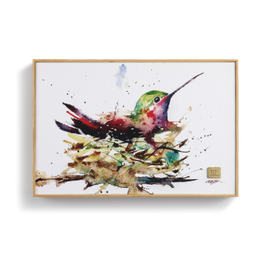Demdaco HUMMINGBIRD IN NEST WALL ART