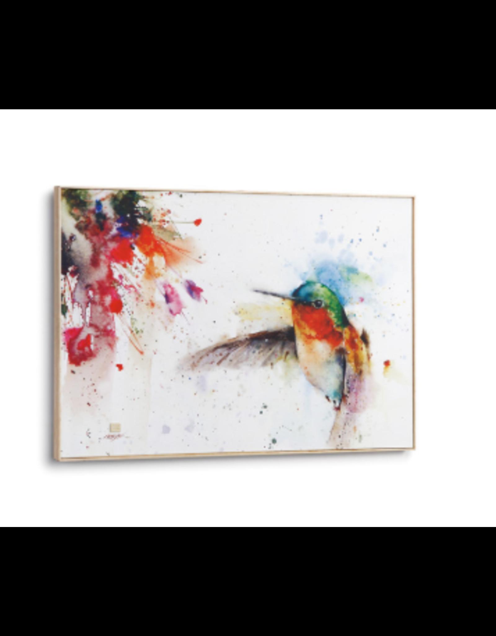 Demdaco JEWEL HUMMINGBIRD WALL ART