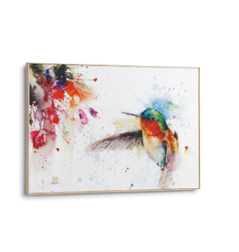 Demdaco JEWEL HUMMINGBIRD WALL ART