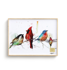 Demdaco LITTLE BIRDS WALL ART