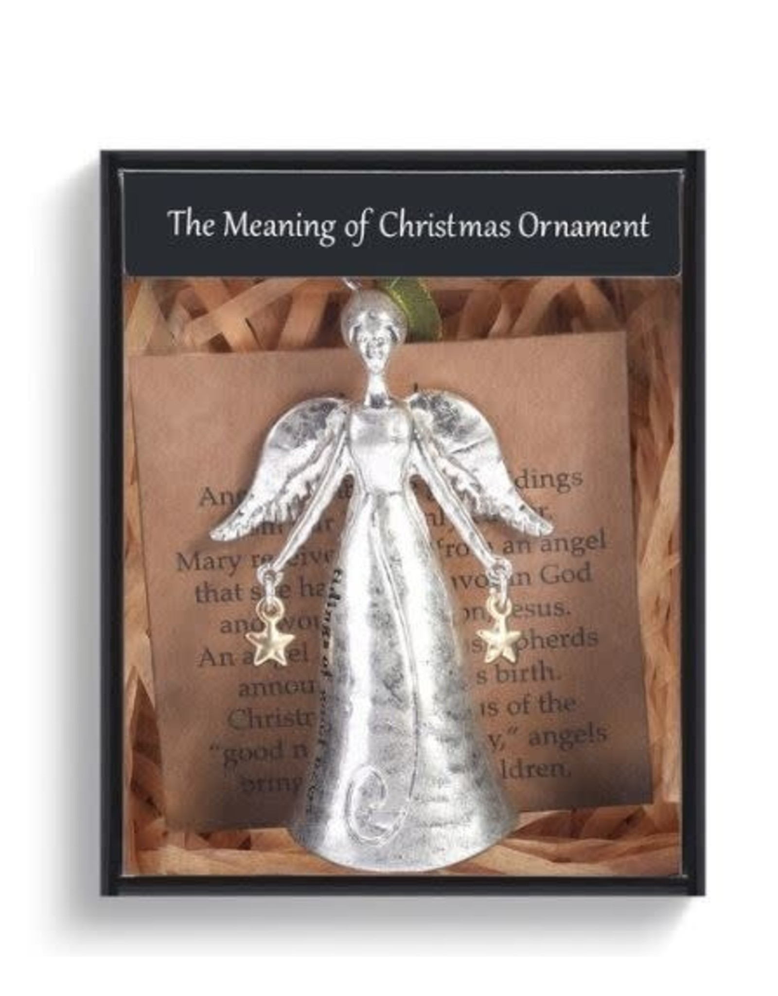 Demdaco MEANING OF CHRISTMAS ANGEL ORNAMENT