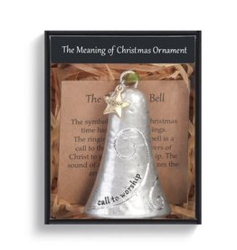 Demdaco MEANING OF CHRISTMAS BELL ORNAMENT