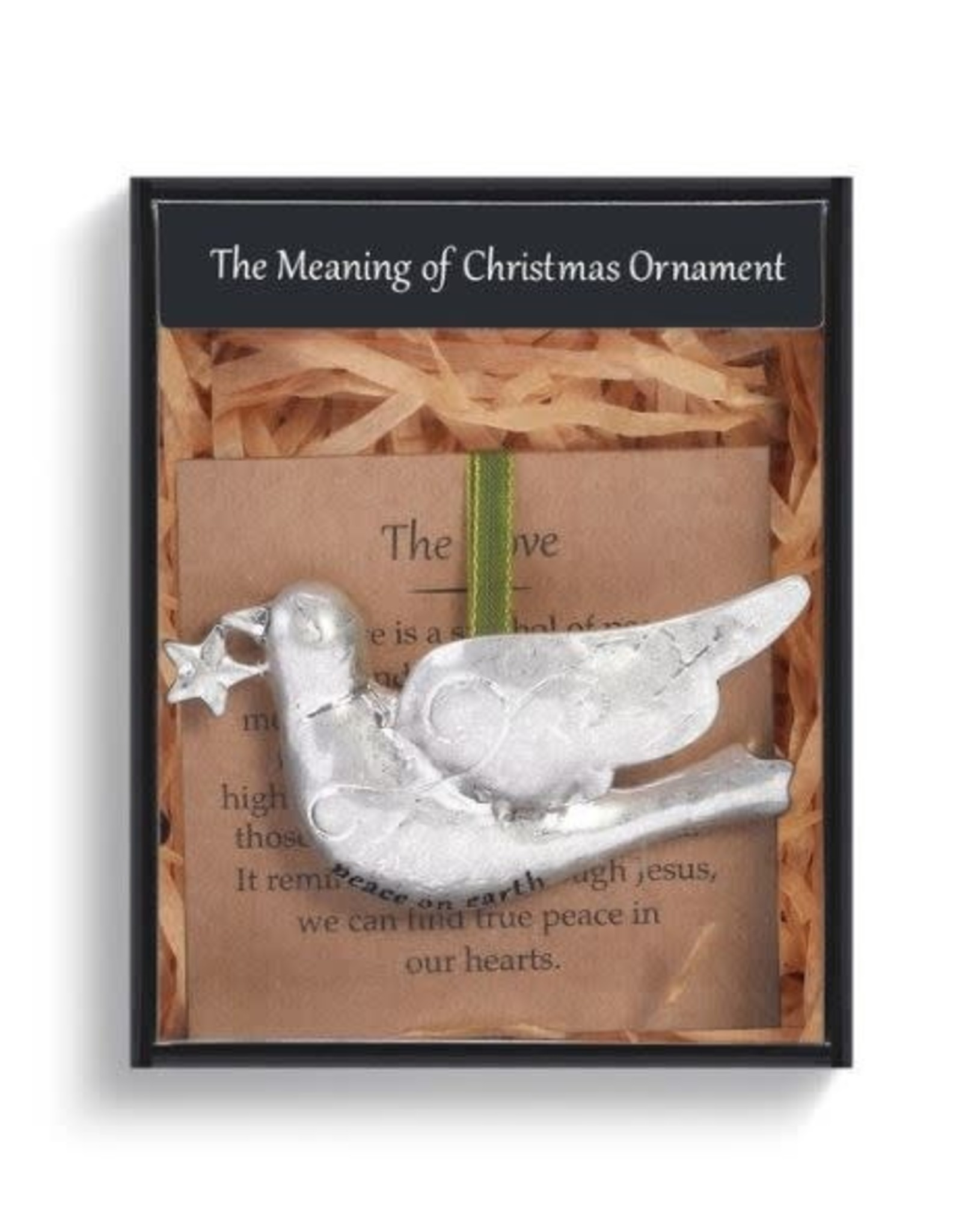 Demdaco MEANING OF CHRISTMAS DOVE ORNAMENT