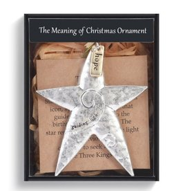 Demdaco MEANING OF CHRISTMAS STAR ORNAMENT