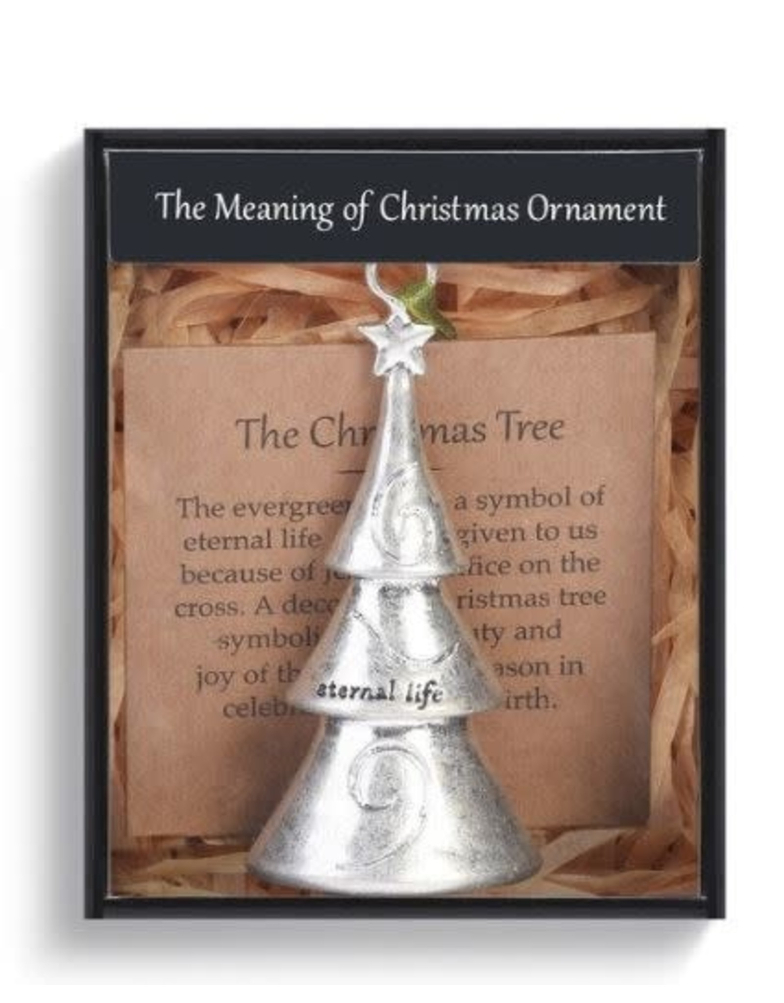 Demdaco MEANING OF CHRISTMAS TREE ORNAMENT