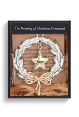 Demdaco MEANING OF CHRISTMAS WREATH ORNAMENT