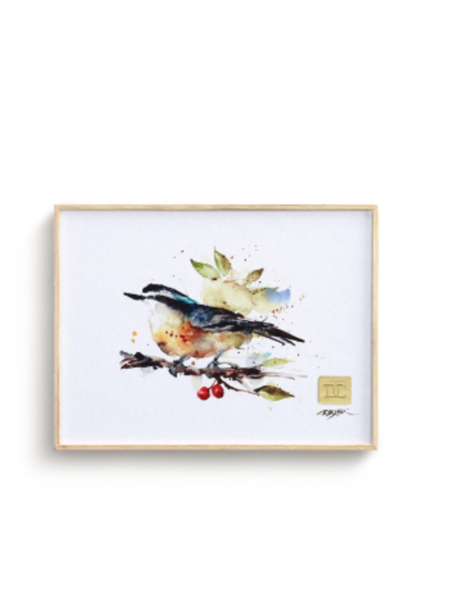 Demdaco NUTHATCHES AND BERRIES WALL ART