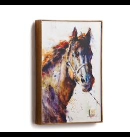 Demdaco PONCHO HORSE WALL ART