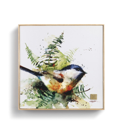 Demdaco SPRING CHICKADEE WALL ART