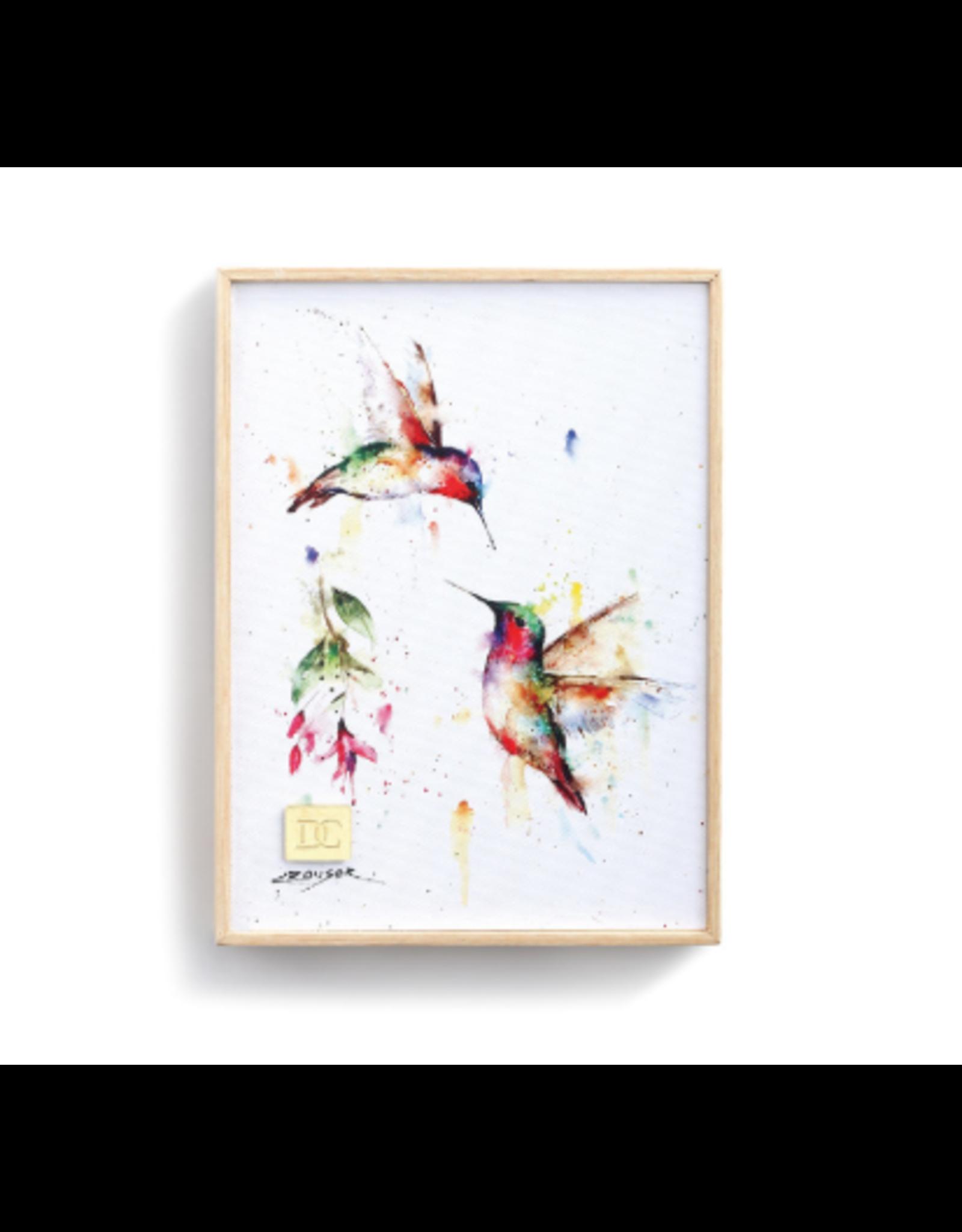 Demdaco SUMMER HUMMINGBIRD WALL ART