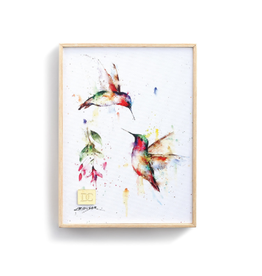 Demdaco SUMMER HUMMINGBIRD WALL ART
