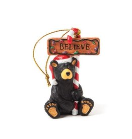 Demdaco BELIEVE BEAR ORNAMENT