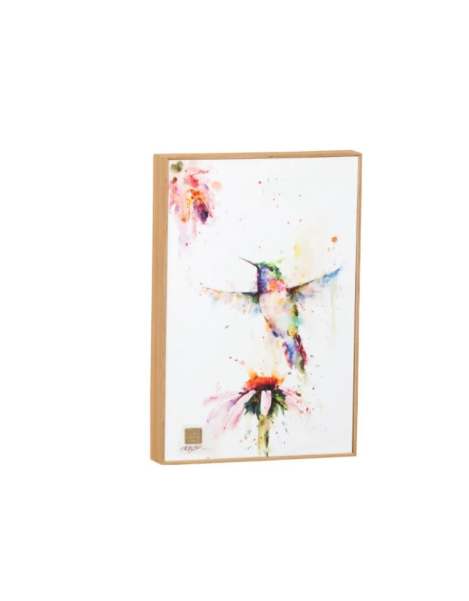 Demdaco WALL ART PEEWEE HUMMINGBIRD