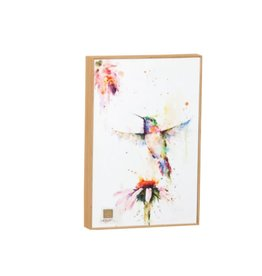 Demdaco WALL ART PEEWEE HUMMINGBIRD