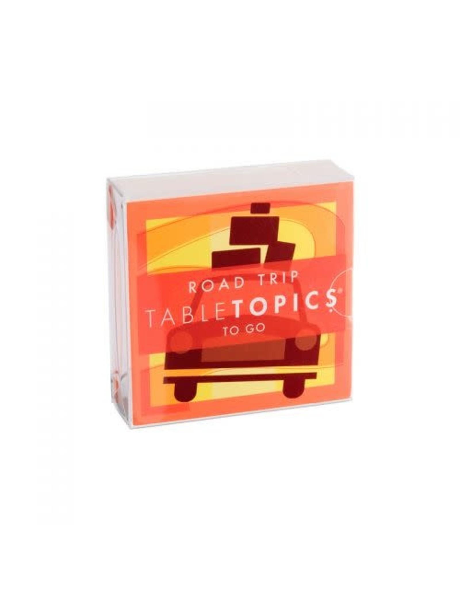 Tabletopics ROAD TRIP TABLE TOPICS