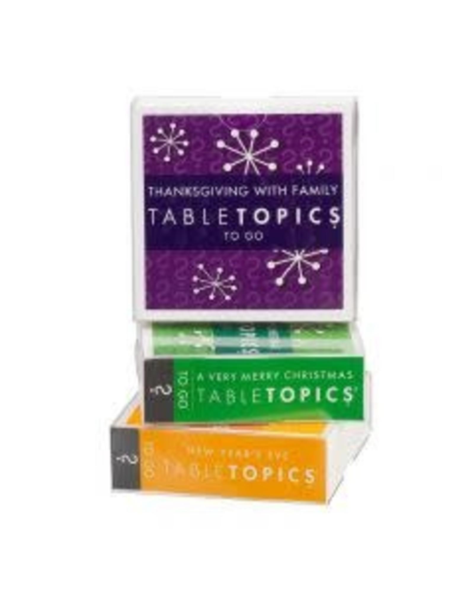 Tabletopics HOLIDAY TRIO TABLE TOPICS