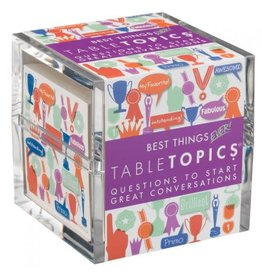 Tabletopics BEST THINGS TABLE TOPICS