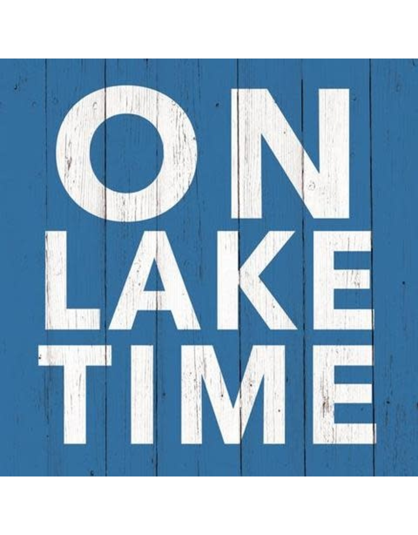 Paper Products Designs ON LAKE TIME BEVERAGE NAPKIN