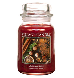 Village Candle CHRISTMAS SPICE JAR CANDLE