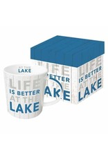 Paper Products Designs AT THE LAKE MUG IN GIFT BOX