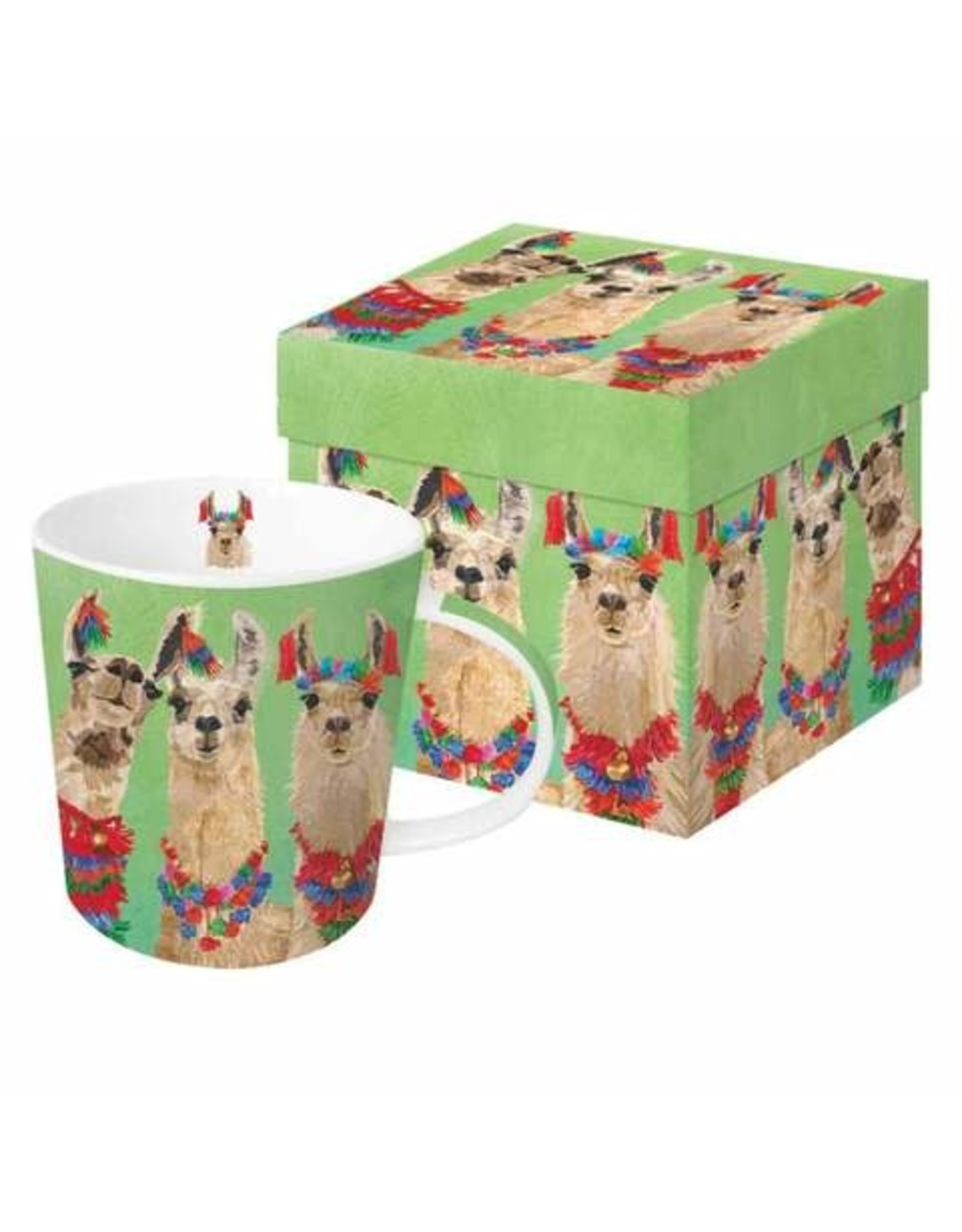 Paper Products Designs LLAMA AMIGOS MUG IN GIFT BOX