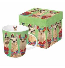 Paper Products Designs LLAMA AMIGOS MUG IN GIFT BOX