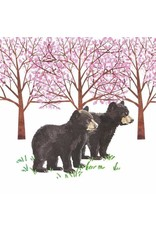 Paper Products Designs HYDE PARK BEARS BEVERAGE NAPKIN