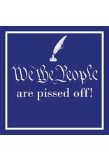 Paper Products Designs WE THE PEOPLE BEVERAGE NAPKIN
