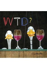 Paper Products Designs WHAT THE DUCK BEVERAGE NAPKIN