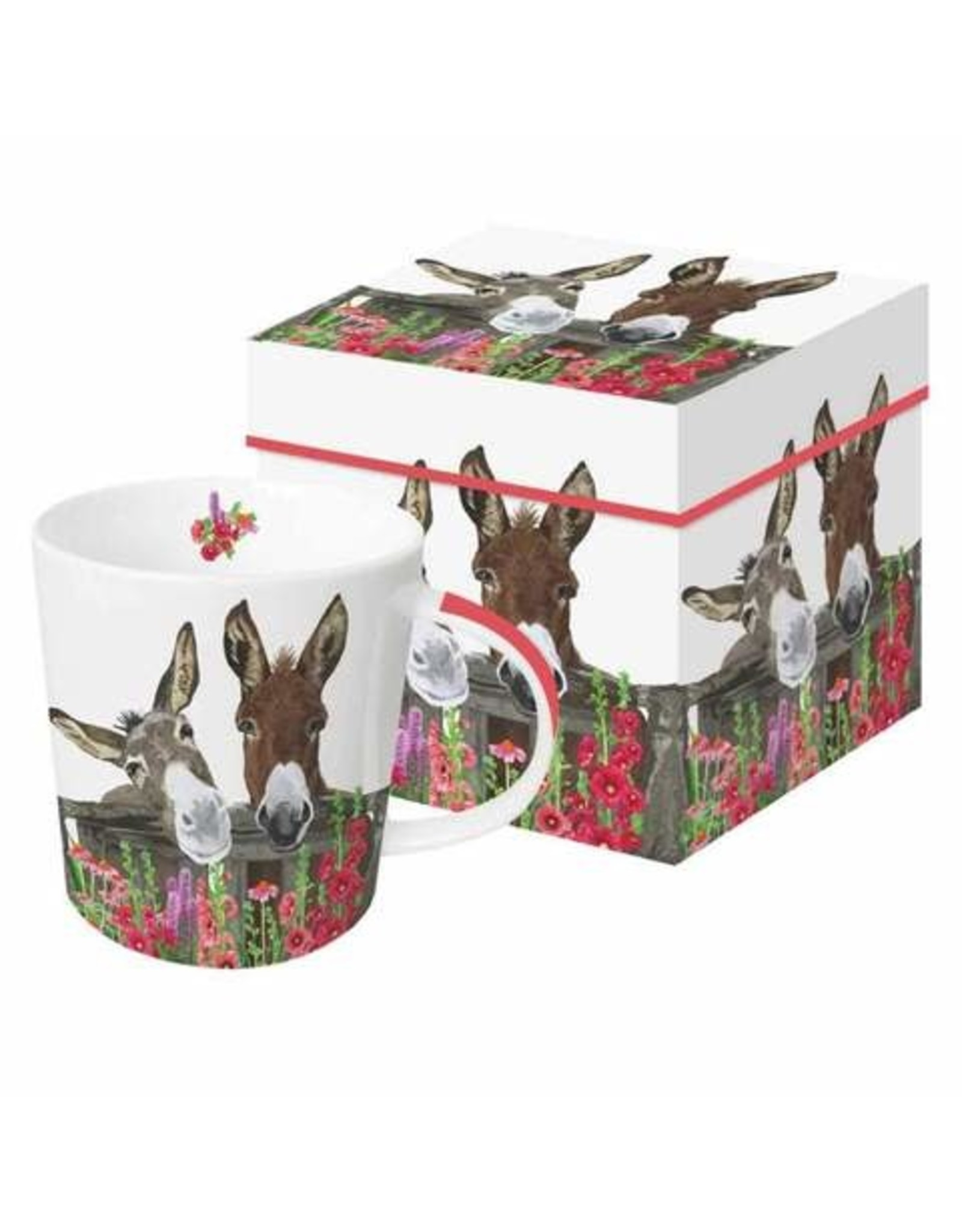 Paper Products Designs PEANUT BUTTER & JELLY MUG IN GIFT BOX