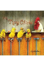 Paper Products Designs THE TIPSY CHICKS BEVERAGE NAPKIN