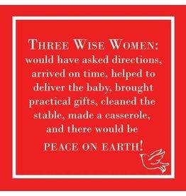 Paper Products Designs THREE WISE WOMEN BEVERAGE NAPKIN