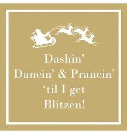 Paper Products Designs DASHIN DANCIN BEVERAGE NAPKIN