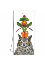 Paper Products Designs WHAT A HOOT KITCHEN TOWEL