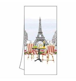 Paper Products Designs BISTRO DE PARIS KITCHEN TOWEL