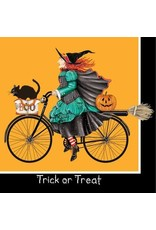 Paper Products Designs HALLOWEEN WITCH BEVERAGE NAPKIN